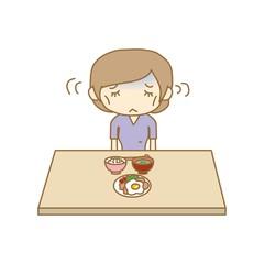 摂食障害 拒食症の女性