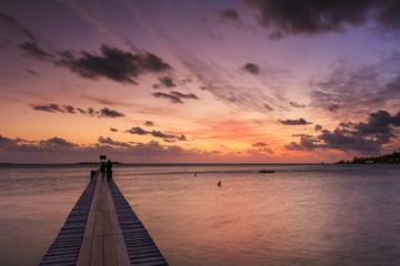 Sunset au Ponton