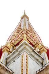 White marble pagoda