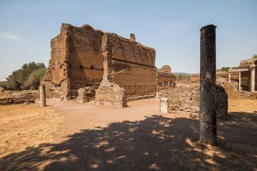 Beautiful archaeological ruins in Villa Adriana