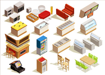 Fast Food Furniture Set