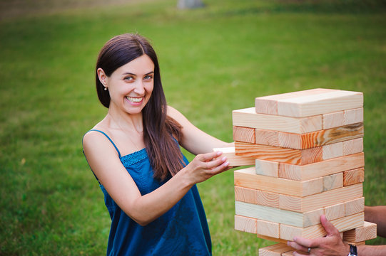 Giant Outdoor Block Game