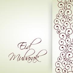 illustration of Muslim festival Eid Background