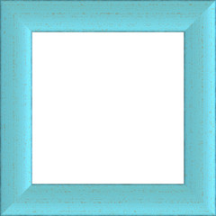 Sky Blue Weathered Square Wood Photo Painting Picture Frame