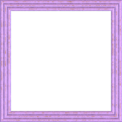 Lilac Weathered Square Wood Photo Painting Picture Frame