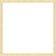 Beige Weathered Square Wood Photo Painting Picture Frame