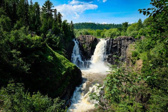 High Falls at Grand Portage State Park in Minnesota
