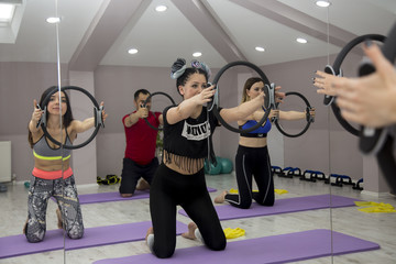 Group ring pilates