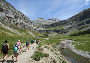 Ruta de Ordesa y Monte Perdido en Huesca, España