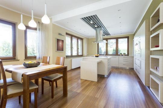 Kitchen in minimalistic style