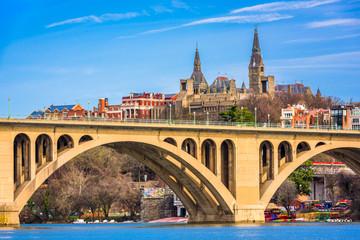 Georgetown, Washington DC, USA on the Potomac River.