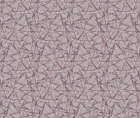 Rough hatched triangles overlapping