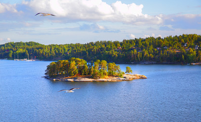 Islands in the archipelago of Stockholm