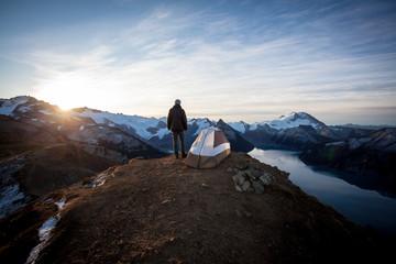 Sunrise over Camp