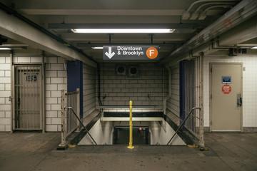 Subway Corridors in New York Subway