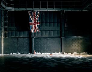 Empty Room And Union Jack