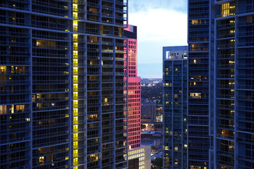 Viceroy hotel and downtown Miami