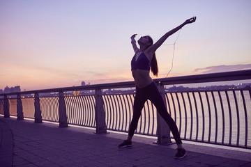 Female runner, New York City