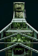 Conveyor shaft of a disused coal mine