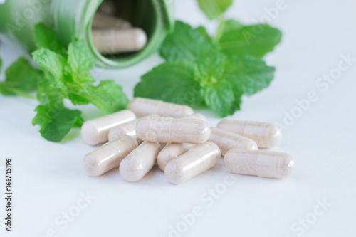Vitamins supplements, herbal