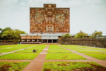 UNAM Wall mural