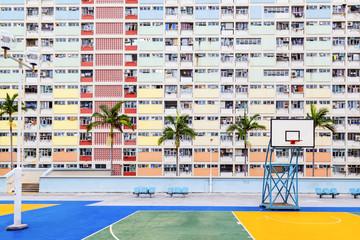 Old Public Residential Estate in Hong Kong