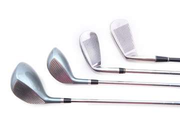 golf club isolated on white background.