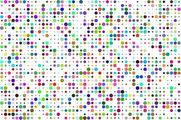 Cercles colorés