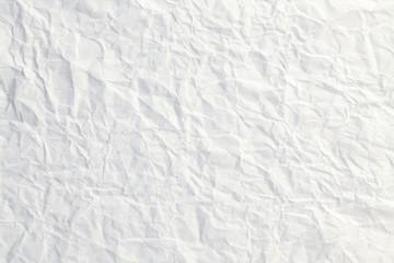 シワシワな白い紙/背景素材
