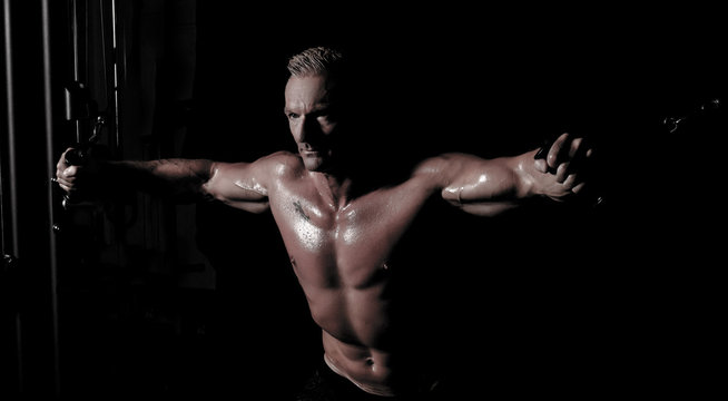 Fitness Mann