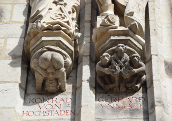 Kallendresser am Kölner Rathausturm
