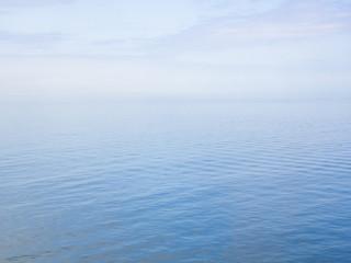 Fototapete - Fog on Baltic Sea
