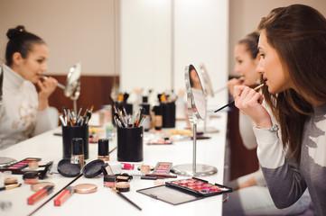 School of makeup.