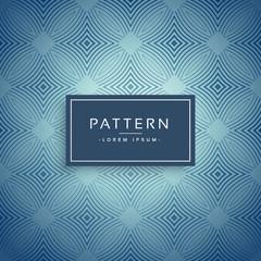 elegant blue pattern design background