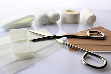 An image of wound material