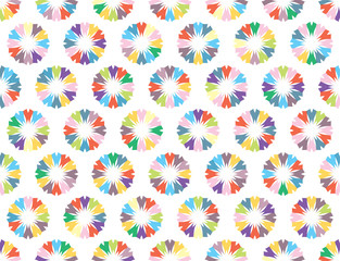 Seamless vector abstract background