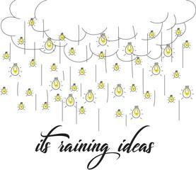 it's raining ideas
