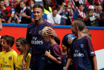 Neymar Presentation In Paris