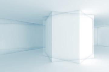 Geometric shapes, 3d illustration