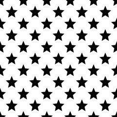 Stars pattern. Seamless vector illustration. Scandinavian style