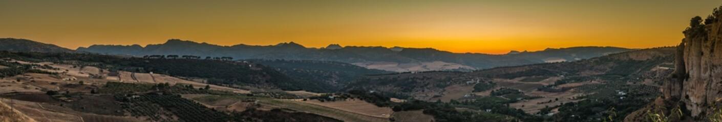 Ronda Landscape Panorama I