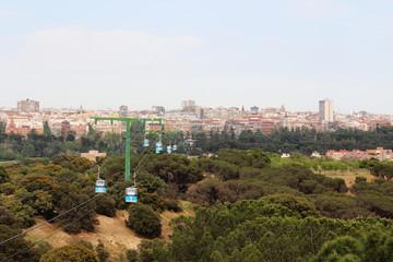 Teleferico De Madrid Cable Car, Spain