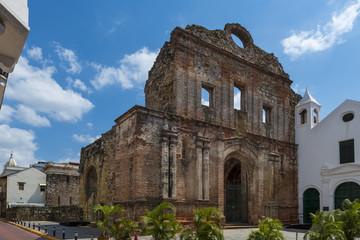 The Santo Domingo Convent in Casco Viejo, Panama City, Panama
