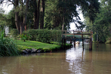 Rive du Rio de la Plata à Tigre