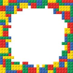 Lego Building Block Brick Frame Background Pattern