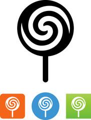Lollipop Icon - Illustration