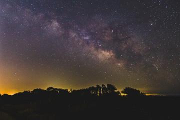Milky Way Stars from Santa Cruz California