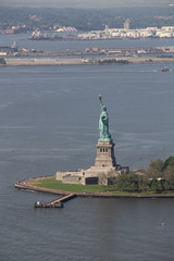 New York: The famous Statue of Liberty