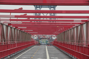 New York: Williamsburg Bridge