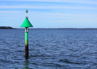 beacon and buoy